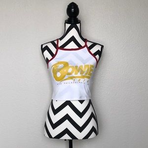 Tops - David Bowie Crop Top